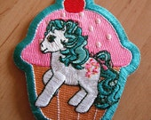 My Little Pony Embroidered Iron on Patch - Cupcake