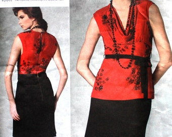 UNCUT Tracy Reese Loose Fitting Top and A Line Skirt Bust 30.5 - 32.5