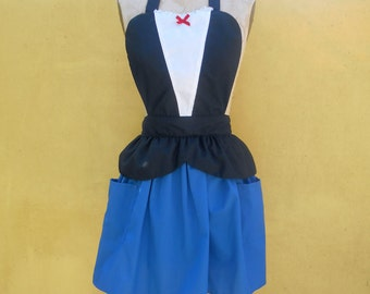 MARY POPPINS apron style  womens full Apron  apron  from Lover Dovers
