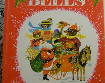 Jingle Bells, vintage Little Golden Book