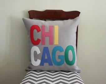 City Pillows // Custom City Pillows // Chicago // Austin // Boston // London// Los Angeles // Nashville // New York // Portland // Seattle