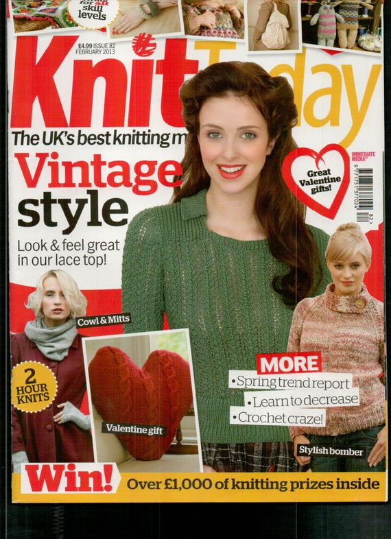 Knit Today Knitting Magazine Issue 82 February 2013