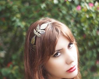 Bronze Leaf Headband