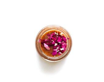 Apricot Rose Scrub Mask . sample
