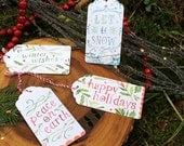Holiday Gift Tags and Stickers