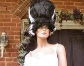 Bride of Frankenstein Costume Wig