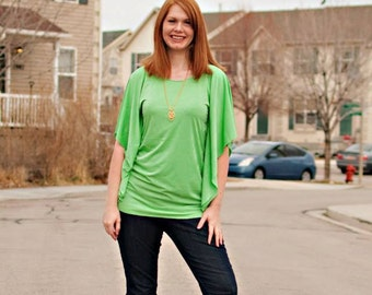 Storm's Flutter Top (XS-5X) Downloadable .PDF Sewing Pattern & E-Book