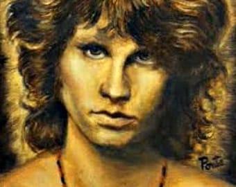 Jim Morrison The Doors - Giclee Print