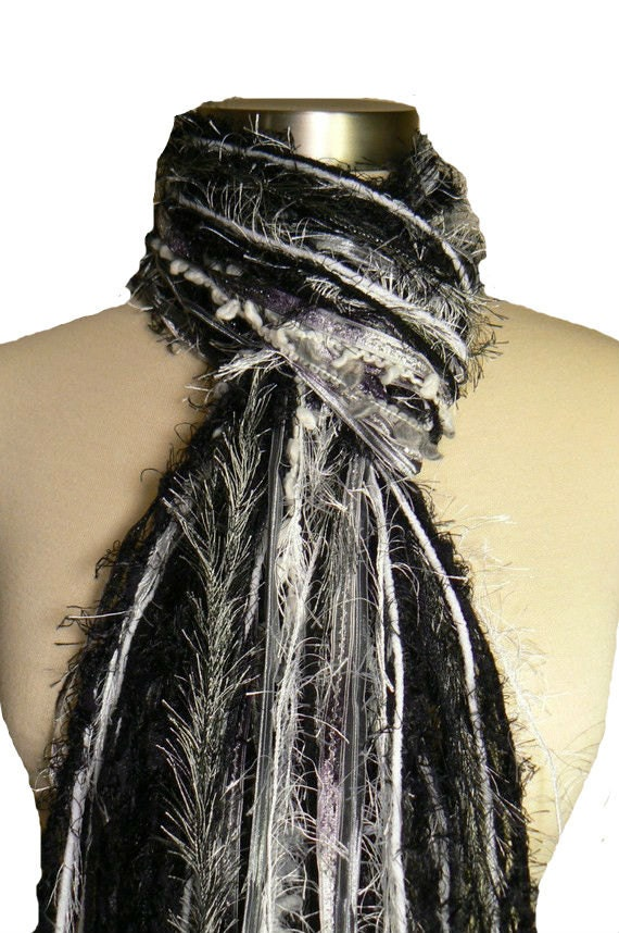Oakland Raiders colors - Football Scarfs NFL Colors Scarves - Silver, Black and White
