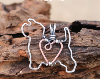 Westie Dog Necklace, Custom Dog Necklace, Sterling Silver Dog, Dog Outline, Wire Jewelry