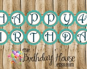Brave Friends Birthday Party Banner - Custom Merida Party Banner by The Birthday House