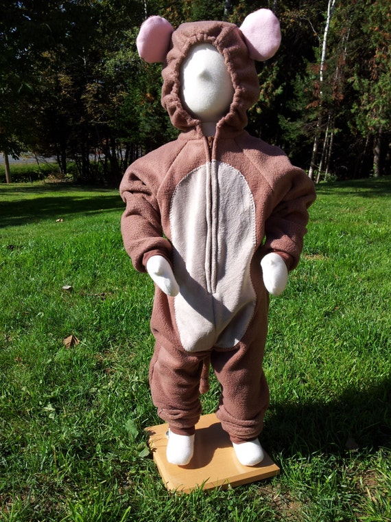 Brown Mouse Costume