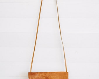 """Saddle Brown Leather Hand Bag // """"mini bucket bag"""" by fullgive in saddle"""