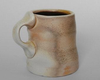 Wood-fired Porcelain Mug
