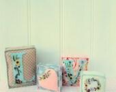 Love Letters Felt Alphabet Blocks Embroidery Pattern instant download pdf