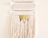 woven wall hanging / lunar weaving /