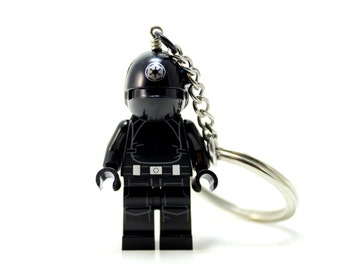 Imperial Gunner Keychain - made from Genuine Star Wars LEGO ®  Minifig
