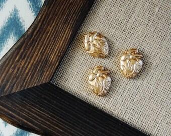Push Pins Thumbtacks Pushpin Decorative Gold Cork Boards Set of 3 Fridge Magnets Tacks Thumb Tack Office Cubicle Décor Anatomical Heart