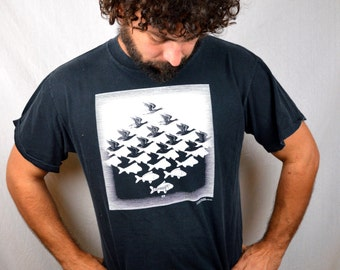 Vintage 1989 MC Escher Tee Shirt