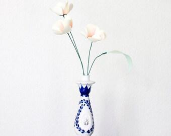 Kissed Fluttering Hearts Paper Flower Bouquet, Home Decor, Paper Art, Handmade Flowers, Table Decor, Paper Bouquet, Mothers Day Flowers
