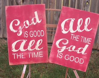 All The Time God Is Good, God Is Good All The Time Set