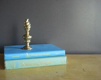 Stay Put - Vintage Brass Paperweight