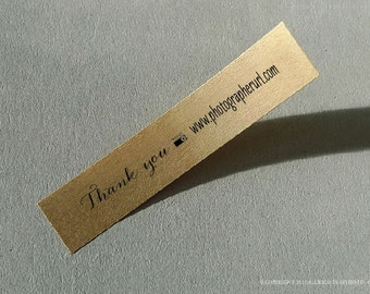 Custom Labels Camera Photography Packaging Thank You Photographer Packaging Custom Sticker URL