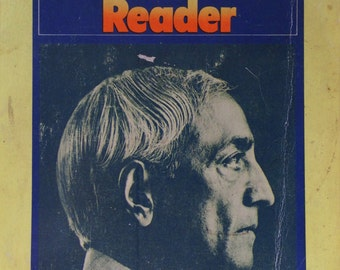 1973 The Penguin KRISHNAMURTI Reader Compiled by Mary LUTYENS THEOSOPHY Book