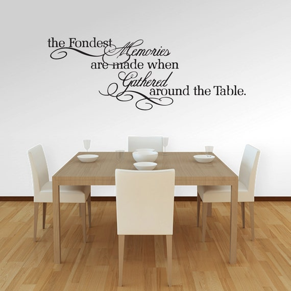 Wall Decals Quotes For Dining Room