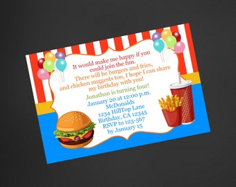 Mcdonalds birthday Etsy