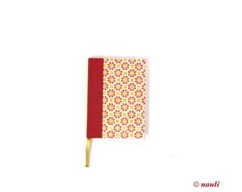 2018 Daily Planner, A6 Agenda, red orange Day Planner