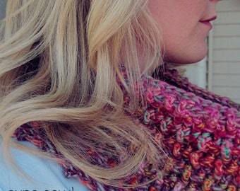 Aura Cowl & Infinity Scarf ~ 2 Crochet Patterns