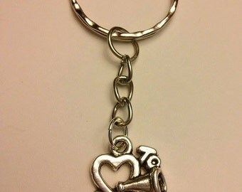 Love To Cheer Keychain