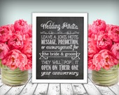 Wedding  Piñata Sign Chalkboard Printable 8x10 PDF Instant Download Rustic Shabby Chic Woodland