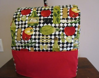 KitchenAid Mixer Cover  Easy Sewing PATTERN, Fits Classic and Artisan, 4 and 5 Quart Tilt Head Stand Mixers, Appliance Cover, Kitchen Aid