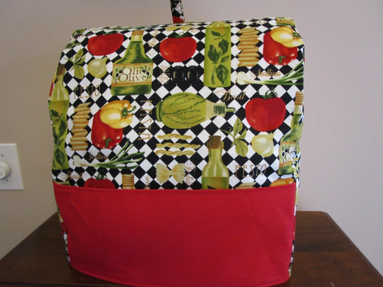 KitchenAid Mixer Cover Easy Sewing PATTERN Fits Classic and