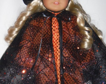 18 inch doll clothes - #706  Witch Costume made to fit the American girl doll - FREE SHIPPING