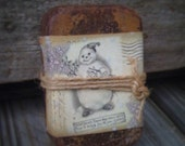 Snowman Melting Loaves - Wax Melts - Tarts - Highly Scented - Primitive Snowman Label - Collections  3.99 each