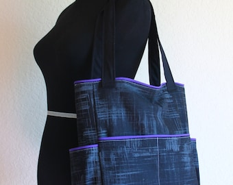 Design Your Own Ruby Tote Your choice of fabric and colorful piping accents