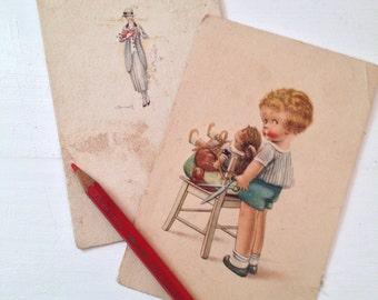 20s and 30s postcard set