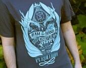 Supernatural Shirt - Castiel Shirt - Raised From Perdition T-Shirt - Supernatural Cas Shirt - Angel of The Lord Shirt - Supernatural Gift