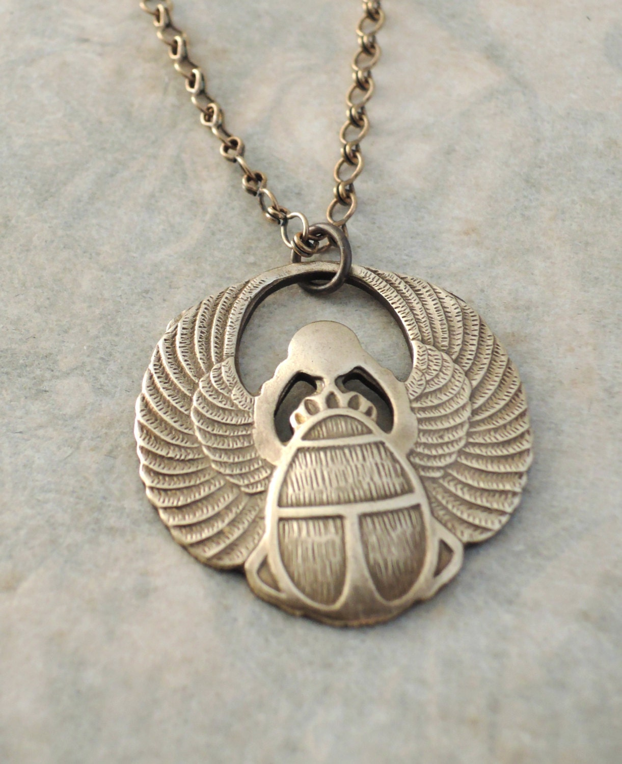 egyptian scarab necklace - photo #15
