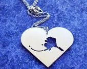 I Heart Alaska - Necklace or Pendant