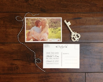 Abby Photo Save the Date Postcard - Set of 50