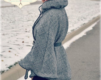 Sophie Cape PDF Sewing Pattern - Women's Edition