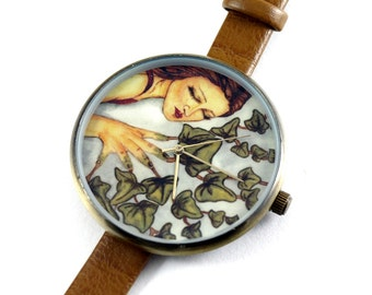 Limited Edition Art Watch - Ivy Fairy Art Watch