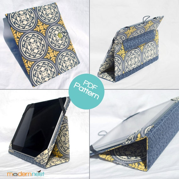 iPad Case Pattern for 2, 3 and 4th generations