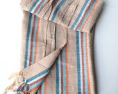 Turkish Fouta towel hamam beach pool yoga spa striped stripes colorful peshtemal
