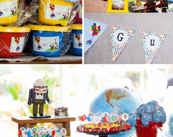 Up Birthday | Up Party | Up Party Printable | Up Decorations | Up Printable