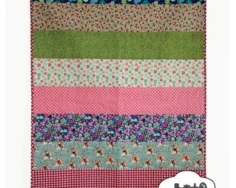 Sunday Picnic Quilt Pattern - PDF Instant Download